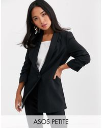 ASOS Asos Design Petite Mix And Match Suit Blazer - Black