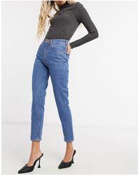 M.i.h Jeans - M.i.h. Mimi jeans slim a vita alta blu - Lyst