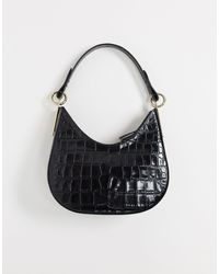 & Other Stories Small Baguette Bag - Black