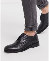 High Shine Lace Up Chunky Shoes in