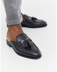 83d87a848ed House Of Hounds Alfred Metallic Loafers In Gunmetal in Black for Men ...