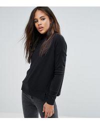 Noisy May Tall - High Neck Sweater - Lyst