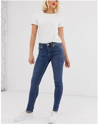 Oasis Slim Cherry Jeans - Blue