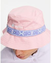Berghaus Aztec Bucket Hat - Pink
