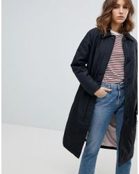SELECTED - Trench Coat - Lyst