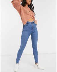 New Look Shape And Lift Skinny Jean - Blue