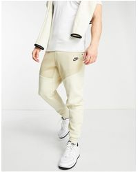 Nike Joggers tecnici felpati color sabbia - Neutro