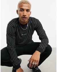 Mennace Long Sleeve T-shirt - Black