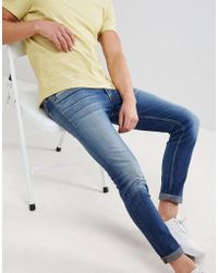 Calvin Klein - Skinny Jeans In Power Blue - Lyst