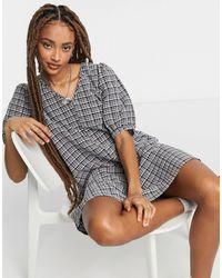 Vero Moda - Mini Smock Dress - Lyst