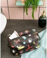 Mi-Pac - X Tatty Devine Iconic Print Wash Bag - Lyst