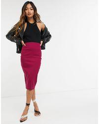 Vesper Bodycon Midi Skirt - Multicolour