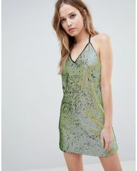 Oh My Love - T Bar Sequin Dress - Lyst