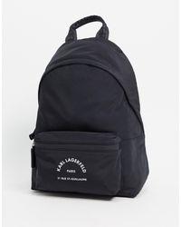Karl Lagerfeld Черный Рюкзак