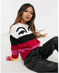 10 Crosby Derek Lam - Multicolored Stripe Sweater - Lyst