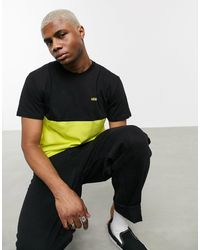 Vans Colorblock T-shirt - Yellow