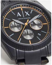 Armani Exchange Черные Часы-браслет Mens Giacomo Ax2852-черный