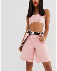 ASOS Utility And Text Webbing Waist And Hip Belt In Black