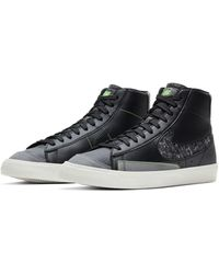 Nike - Черные Кроссовки Blazer Mid '77 Vntg Revival-черный Цвет - Lyst