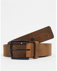 River Island Leather Belt - Brown