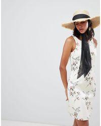 Lavand Floral Bodycon Dress - Multicolor