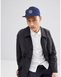 Esprit - 5 Panel Cap In Navy - Lyst