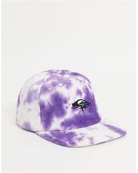 Quiksilver Og Cord Tie Dye Cap - Purple