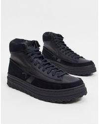 Converse - Кожаные Высокие Кроссовки Черного Цвета Pro Leather X2-черный - Lyst