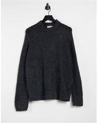 Weekday – Mino – Pullover - Grau