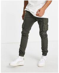 Good For Nothing Pantalon cargo - kaki - Vert