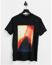 Fred Perry Graphic T-shirt - Black