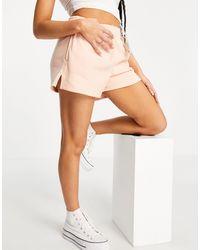 Abercrombie & Fitch Светло-розовые Удобные Шорты -розовый Цвет