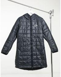 Nike Черная Куртка-парка Eco-down-черный Цвет - Многоцветный