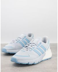 adidas Originals Голубые Кроссовки Zx 1k Boost-голубой - Синий