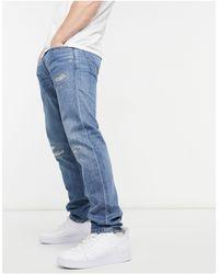 Polo Ralph Lauren Sullivan Slim Fit Distressed Jeans - Blue