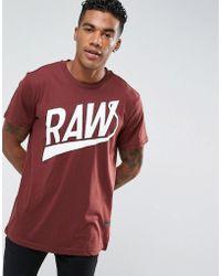 G-Star RAW - Lude T-shirt - Lyst