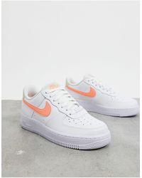 Nike – Air Force 1 '07 – Sneaker - Orange