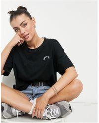 American Eagle T-shirt ample - Noir