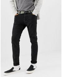 Weekday Friday - Jeans slim nero Tuned
