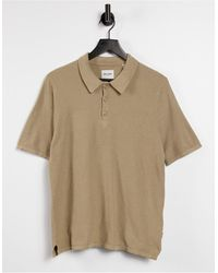 Only & Sons - Knitted Polo - Lyst