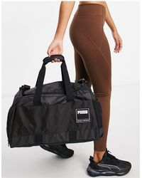 PUMA Training Medium Duffle Bag - Black