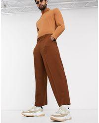ASOS - Pantalones capri - Lyst