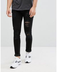 D-Struct - Ripped Jeans - Lyst