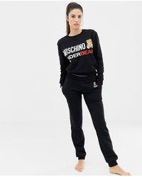 Moschino Logo jogger - Black