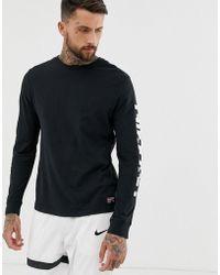 Nike Camiseta de manga larga en negro FC Dry