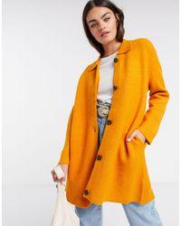 French Connection Пальто-кардиган -медный - Оранжевый