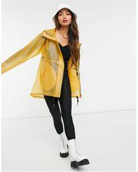 HUNTER Womens Original Raincoat - Yellow