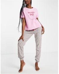 New Look Duvet Day jogger Set - Pink