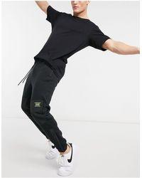 Pull&Bear Jogger à empiècements contrastants - Noir