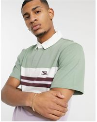 Levi's Authentic Logo Rugby Polo - Green
